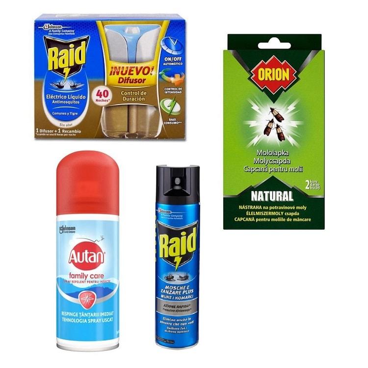 Prípravky proti hmyzu